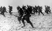 German infantry on the March 1914